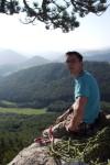 Walter am Gipfel