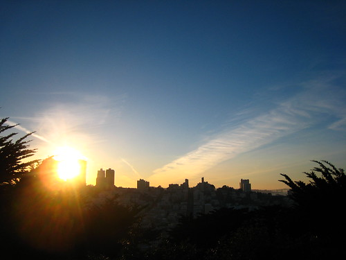 Sunset at Telegraph Hill