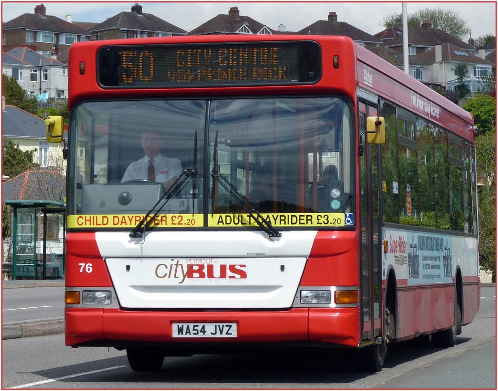 Plymouth Citybus 076 WA54JVZ