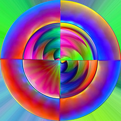 Honour to Peter Tosh (Marco Braun) Tags: color art circle for kunst mandala marco colourful braun coloured farbig vier bunt mucho cercle kreis quatre couleures