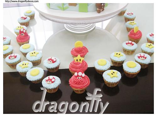 Super Mario Themed Cupcakes / Cupcakes com Tema Mario