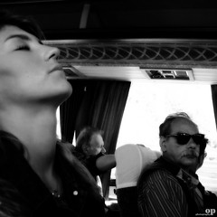 On The Bus (Osvaldo_Zoom) Tags: travel people bw italy bus canon sleep bn journey tired calabria g7 infinestyle bestportraitsaoi