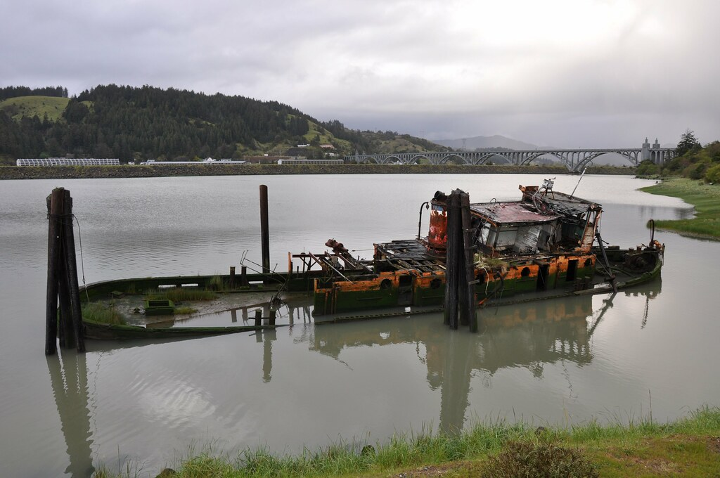 Gold Beach Wreck