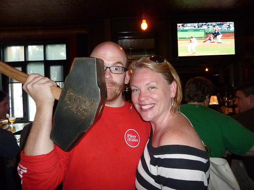 Local 44 owner Brendan, the Hammer & Jennie