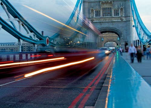 Motion Blur - London Tower Bridge