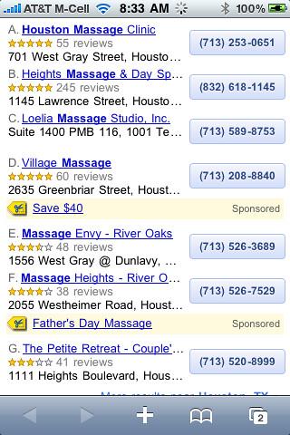 Google Maps Tags