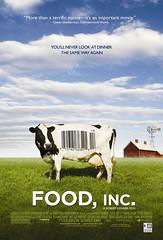 2010最佳紀錄片電影海報 - Food, Inc.