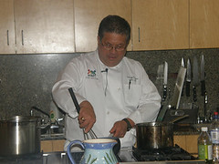 Chef Larry Frazer, starting a culinary program for autistic youth at The Eden Institute
