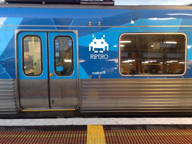 Retro trains