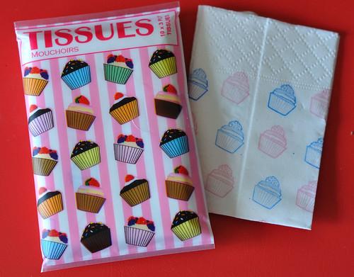 cupcake tissues