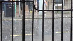Rain, Brougham Street (davidmcnuh) Tags: road street rain weather scotland edinburgh traffic cloisters downpour broughamstreet torrential