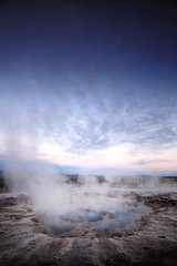 Strokkur (Micha Sacharewicz) Tags: travel mist hot water circle island golden iceland steam springs 1224mmf4g geology geyser portfolio nikkor geysir strokkur sland hotsprings boiling geological boilingwater haukadalur 00005196