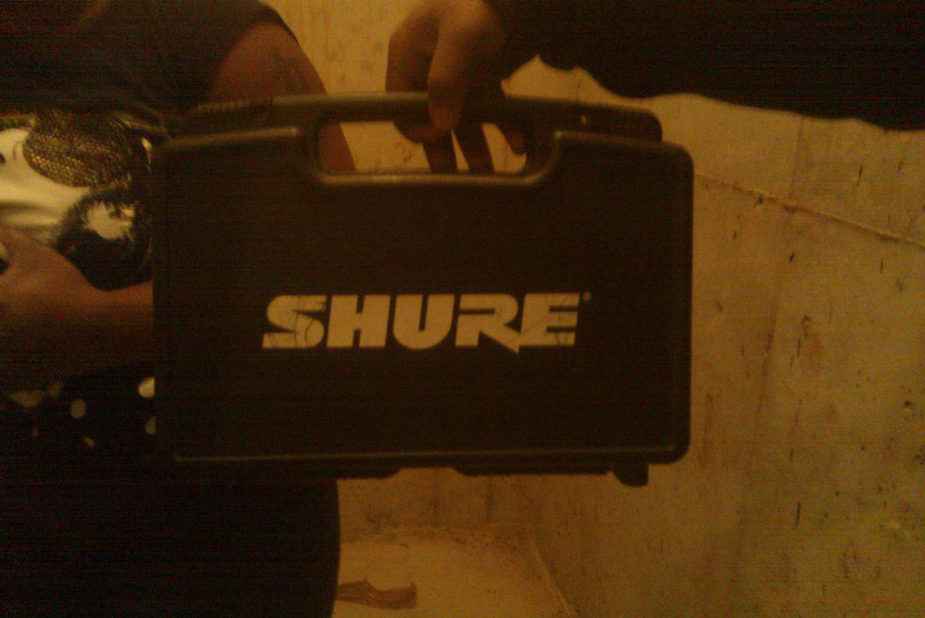 SHURE HEAD SET MIC- EXCELLENT CONDITION - $50