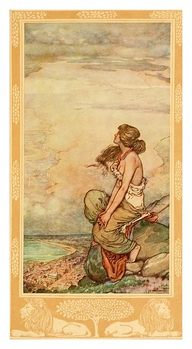 024-Capetown-A song of the English (1909)- William Heath Robinson