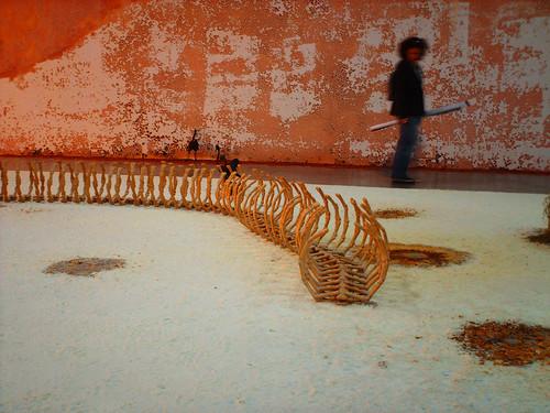 A Michael Blazy installation