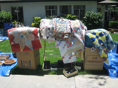 yard sale quilts