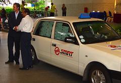 An SMRT Taxi Cab BookCross Hotspot!