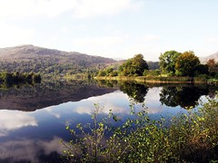 Beauty X2 (steph.A) Tags: england lake holiday reflection grasmere lakedistrict 2006 x2 specnature