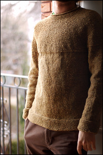 Cobblestone Pullover pattern by Jared Flood