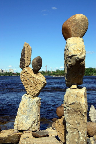 Balanced Rock Art