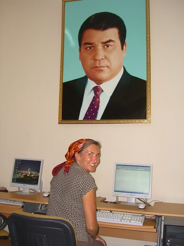 Big Brother Watching in Turkmenistan