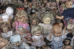 Bad dolls in Hell I (Onkel Ulle) Tags: doll hell bad ulrich schnell whatthef ulrichschnelldk allingbro