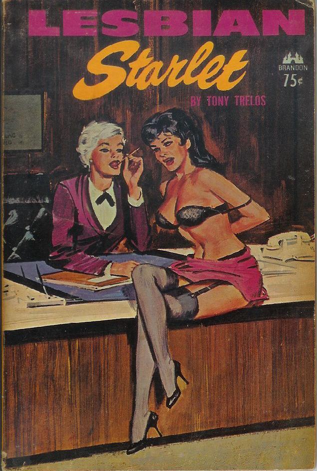 Fiction lesbian covers pulp book