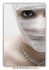 La mirada de la novia (DavidGorgojo) Tags: dianabas retrato portrait mujer woman ojo eye vendas momia ysplix chercherlafemme
