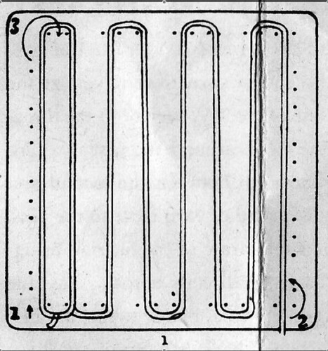 Diagonal Weave diagram 1