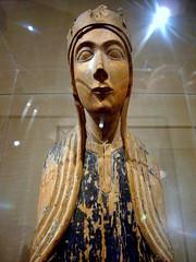 Enthroned Virgin Mary (ggnyc) Tags: wood nyc newyorkcity museum poplar manhattan mary carving virgin gotland met virginmary tabernacle scandinavian metropolitanmuseumofart receptacle religiousart enthroned