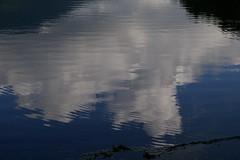 雲 〜女神湖湖面〜