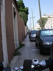 Corrida de obstáculos na Calçada da Ajuda