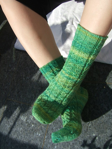 Green Gables Socks