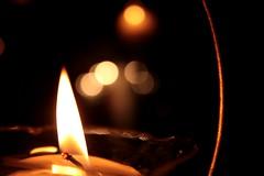 (.Umma.) Tags: luz de vela chama castiçal flama
