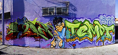 Ezra Tempt (Ableleeskies) Tags: graffiti los montana angeles frame letter ezra graff seventh stn montanas dtk tempt tsl