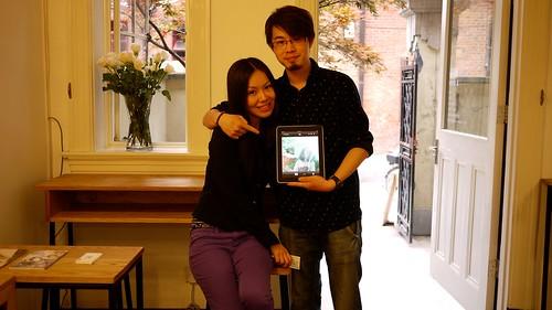 Couple and iPad