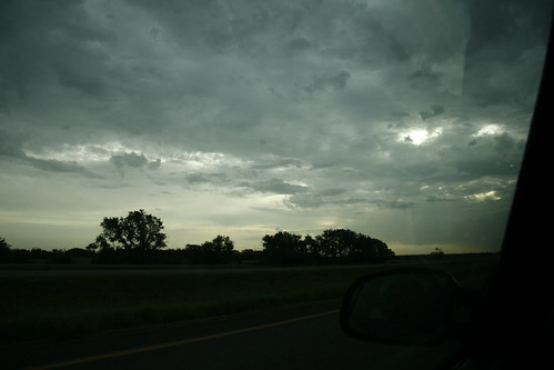 Driving through Kansas