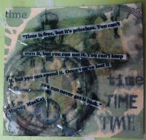 The Three Muses 53: Time by keepsakescrafts.