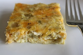 Eat at Allie's: Green Chile Cheese Squares
