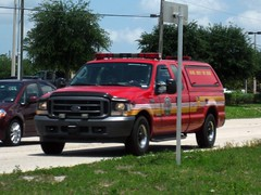 Orange County Fire Rescue (FormerWMDriver) Tags: county rescue orange ford up truck fire florida cab chief pickup vehicle fl extended pick emergency command f250 superduty