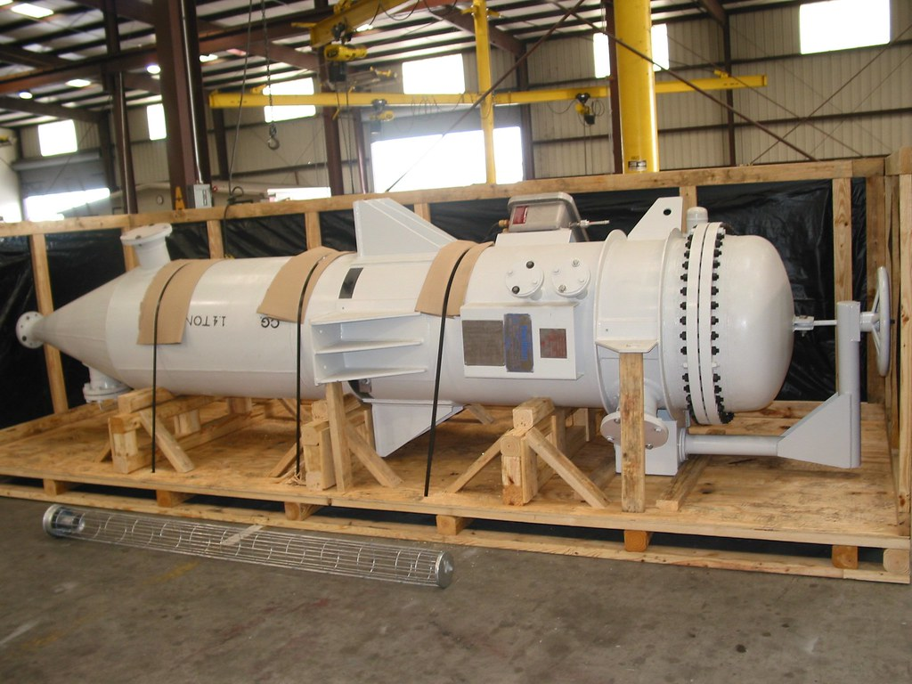 2800 lb. Pressure Vessel for an Oil Refinery