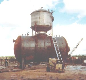 "120"" Diameter Carbon Steel Storage Vessel"
