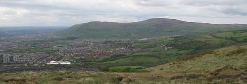 Divis Hills from Cavehill Belfast