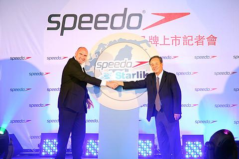 Speedo國際業務發展副總裁--敖邁行(R) & 星裕國際股份有限公司--林彥男總裁