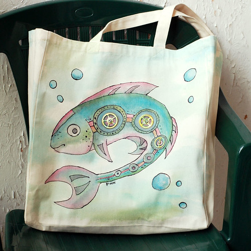 Rybia torba - fishy bag