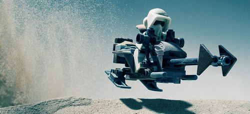 Sand Speeder Bike with Sand Scout