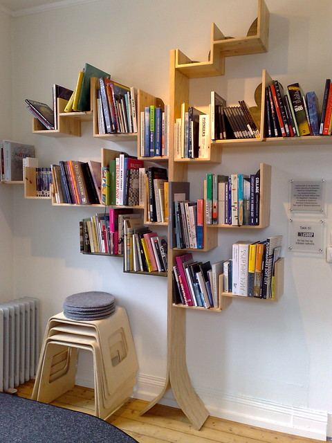 Boom boekenkast - Tree bookcase