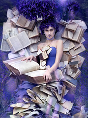 Wonderland : A ForgottenTale (Kirsty Mitchell) Tags: bluebells fairytale purple magic dream francesca fantasy bible wonderland storybook thestoryteller kirstymitchell elbievaneeden gonksbooks 100yearoldbooks