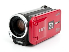 New Sanyo video camera
