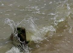 splash (miradel) Tags: sea water poland baltic splash kolobrzeg breakwater 3h